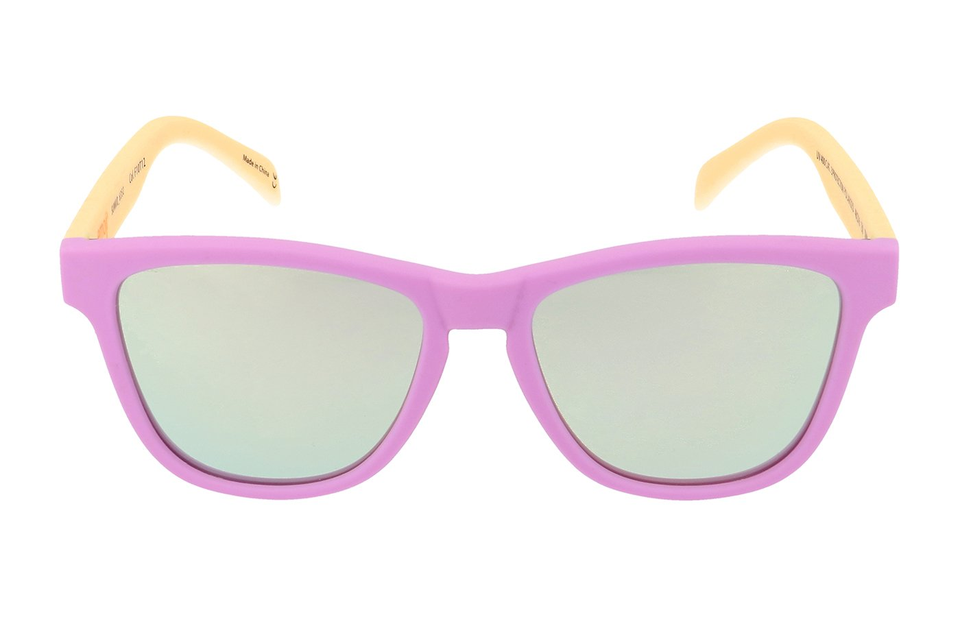DEVIL YELLOW EMOJI SUNGLASSES FOR KIDS