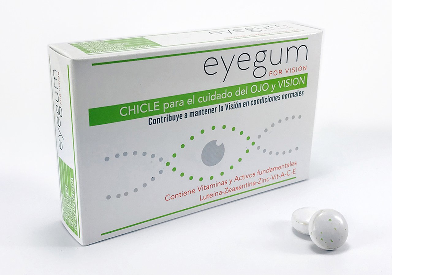 DERMEYES EYEGUM FOR VISION